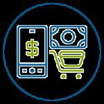 Compras y pagos en establecimientos comerciales con tu Tarjeta Débito Visa con tecnología Contacless o Sin Contacto a $0