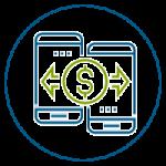 Puedes enviar y recibir Transferencias de Fondos a otras cuentas Prosperando u otras Cooperativas afiliadas a la Red Coopcentral a $0