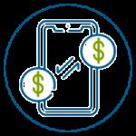 Puedes enviar Transferencias Interbancarias (Banca Tradicional) con costos mínimos por transacción.